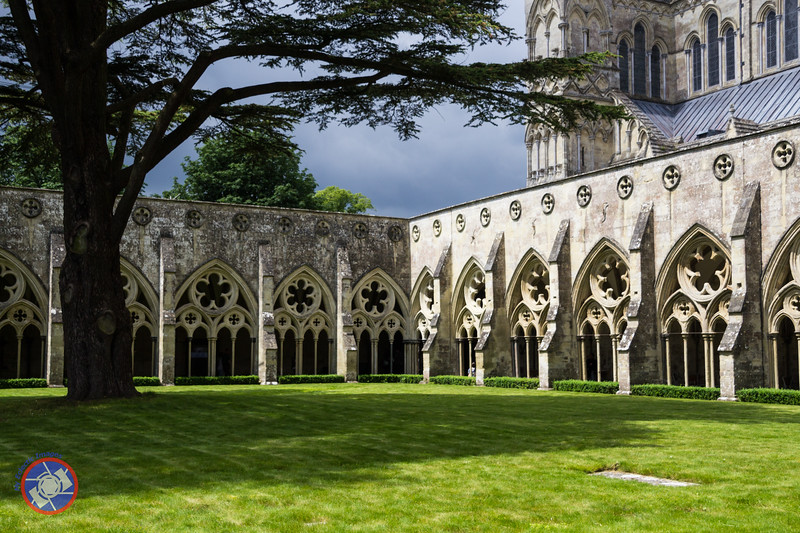 Cloisters Adjacent to Salisbury Cathedral (©simon@myeclecticimages.com)