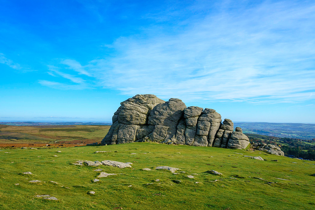 Haytor Rocks in Dartmoor