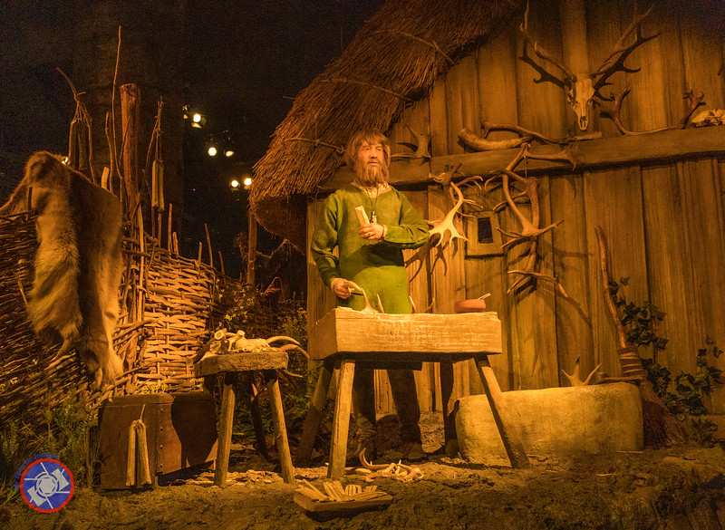 A Craftsman Working in His Workshop - Displayed at the JORVIK Viking Center in York (©simon@myeclecticimages.com)