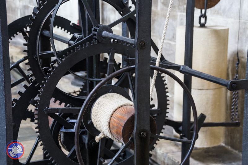 Part of the 14th Century Clock Mechanism (©simon@myeclecticimages.com)
