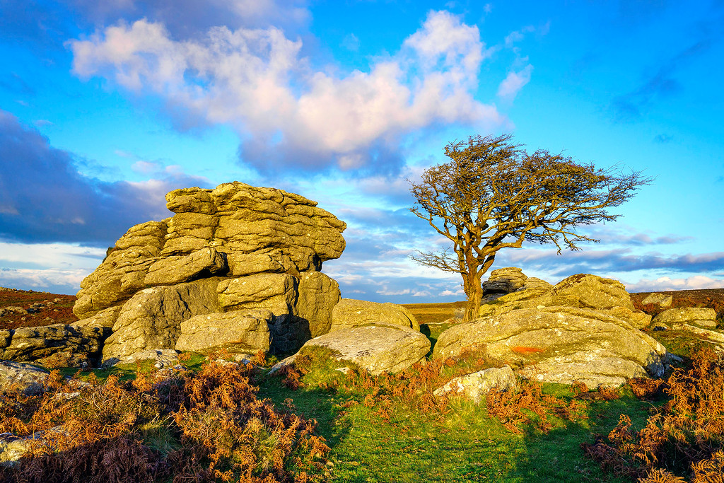 Sunset at Saddle Tor