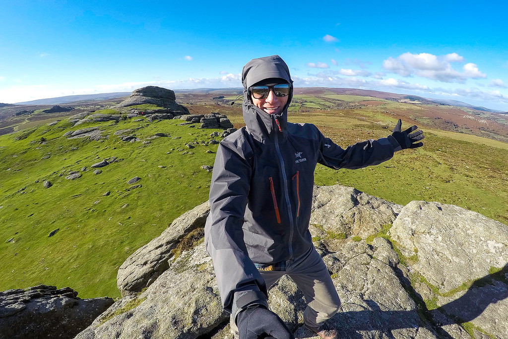 Climbing in Dartmoor
