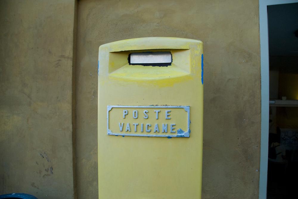 Post Box in Vatican City