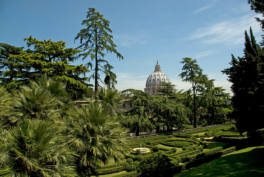 Inside the Vatican Gardens