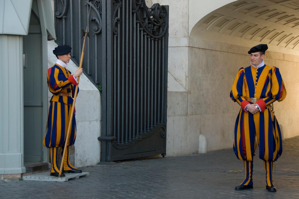 The Swiss Guard, Vatican City