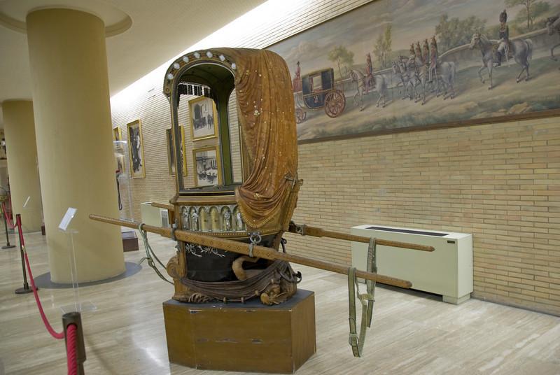 Inside Vatican Mueum in Rome, Italy