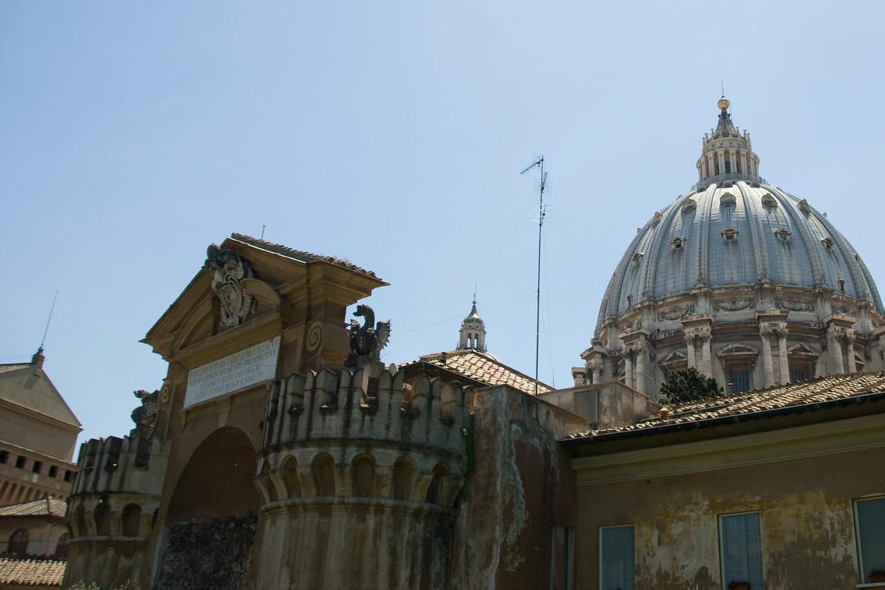 The Sistine Chape at Vatican City