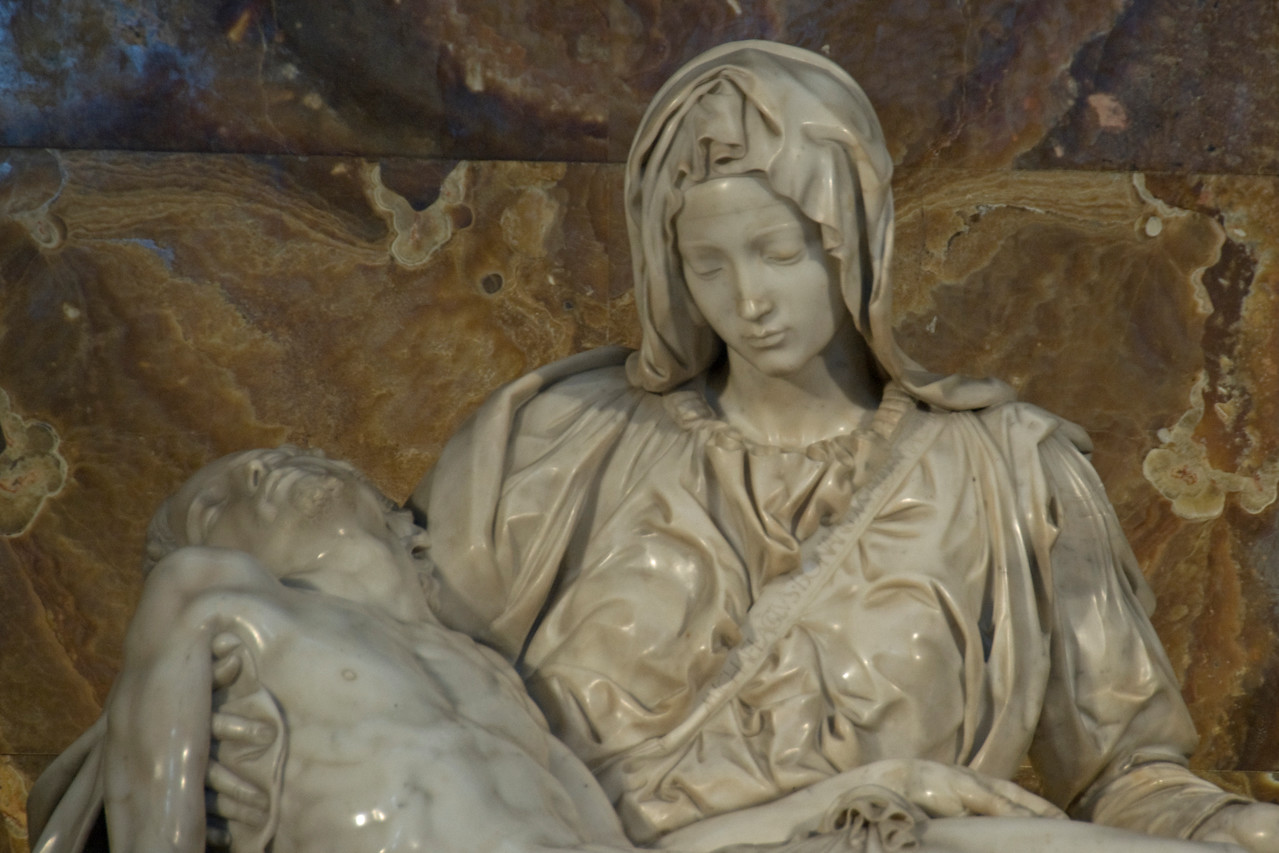 The Pieta by Michaelangelo - Vatican City