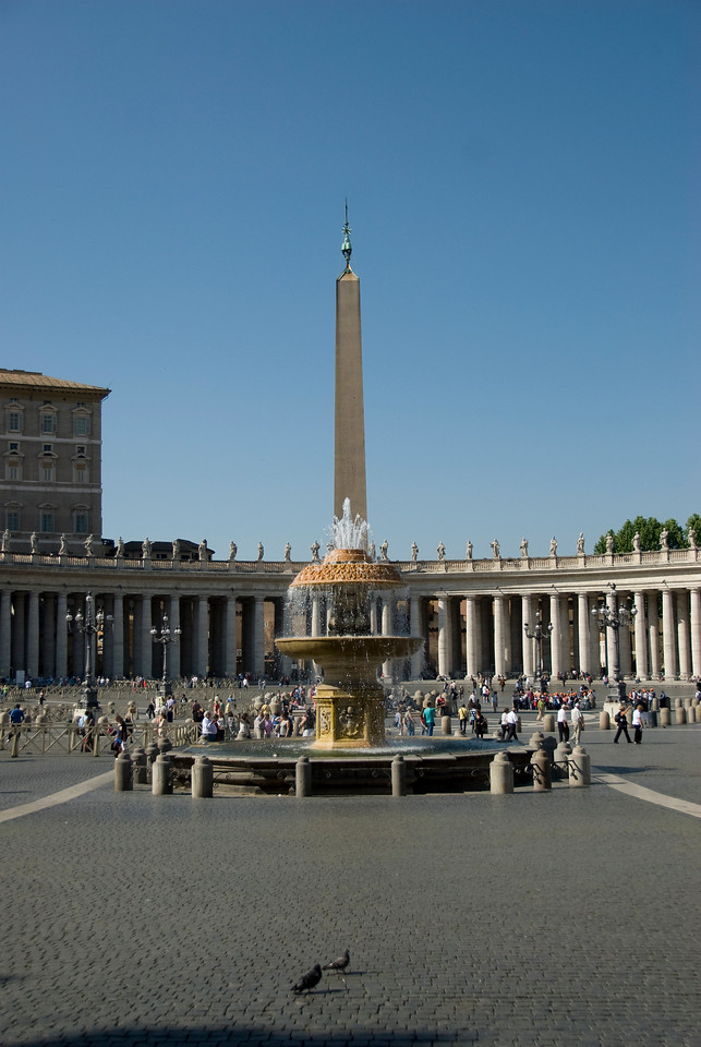 Fountain in the Apostolic Palace at Vatican City, Rome