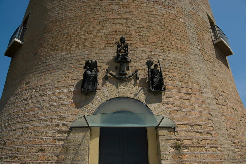 Entrance to St. John's Tower in Vatican City Gardens - Rome, italy