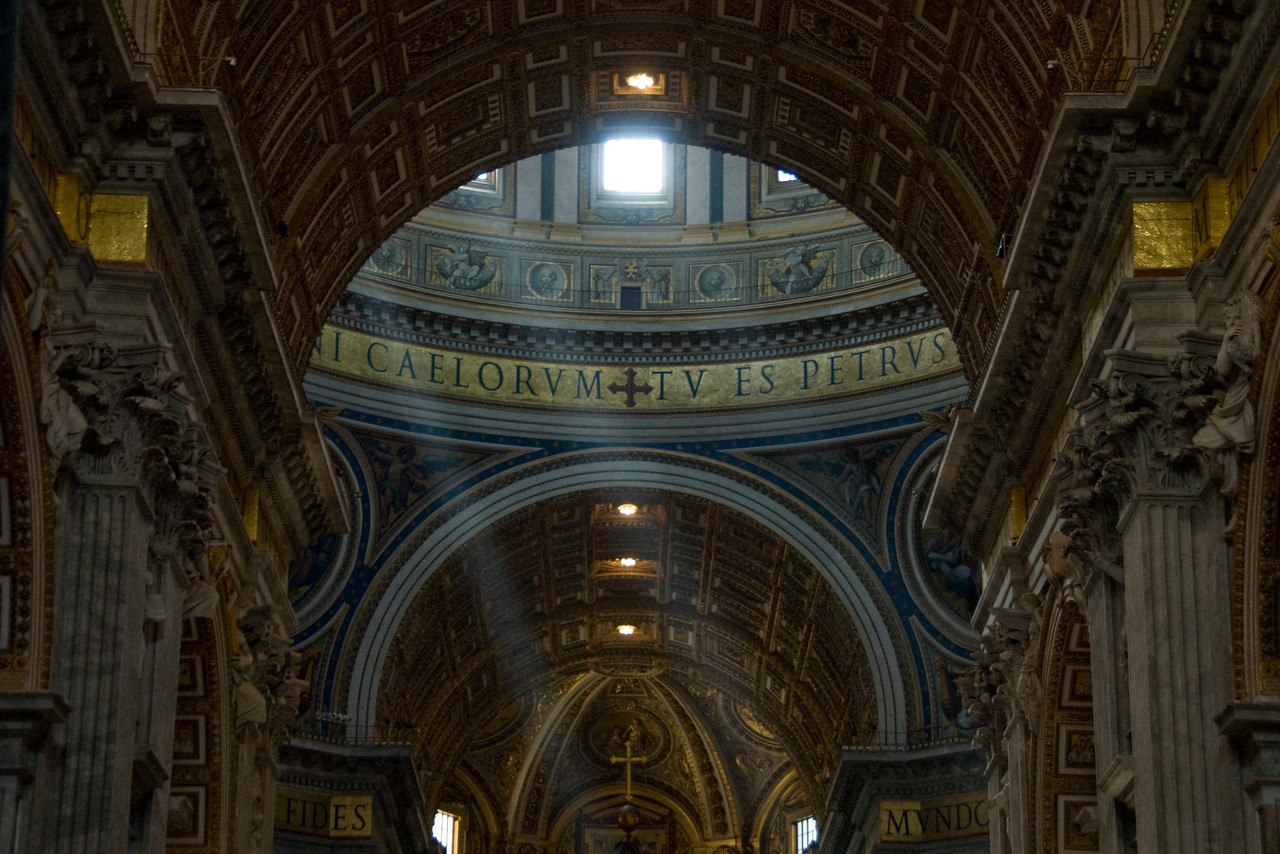 Inside St. Peter's Basilica - Vatican City
