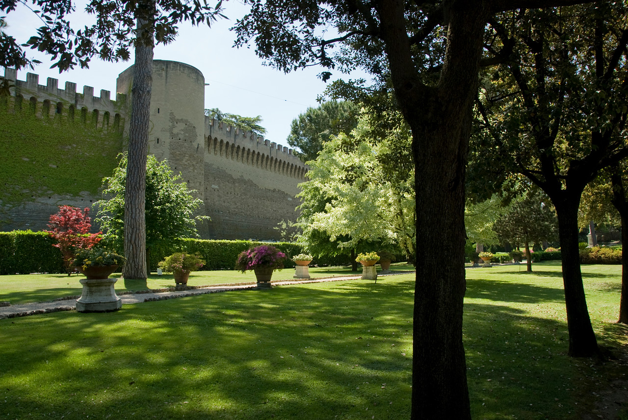 Ancient Leonine Walls in the Vatican City Gardens - Rome, Italy