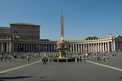 Panorama of Apostolic Palace by day - Vatican City