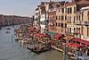 Venice Canal View from Rialto Bridge