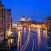 Evening at Accademia Bridge