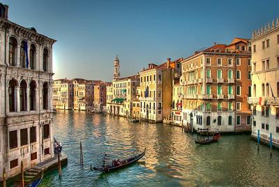 Grand Canal, Venice - 7 April 2009