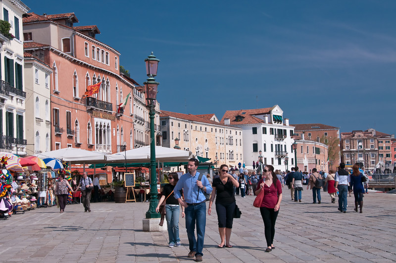 Promenade.  Venice, Italy
