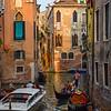 Gondola rides through the back canals