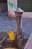 Water fountain, Venice, Italy