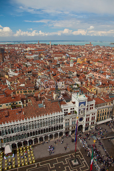 St marks square aerial view 8x12