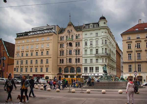 vienna: neuer markt square
