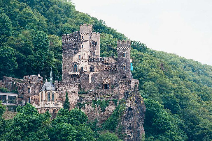 Map Of German Castles.25 Picturesque Photos Of German Castles On The Rhine River