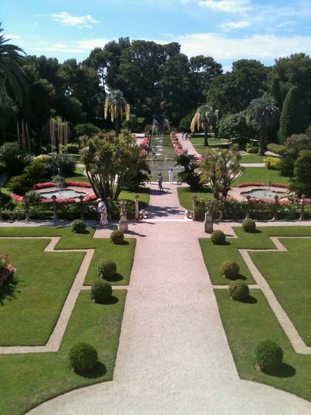 Ephrussi-Rothschild gardens