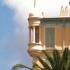 Varied architecture in Nice
