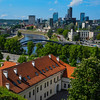 View over Vilnius from the Gendiminas' Castle Tower