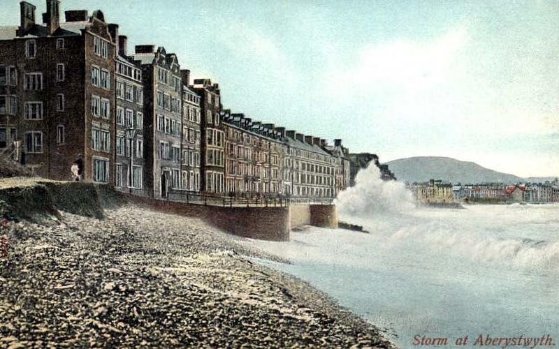 A Storm at Aberystwyth