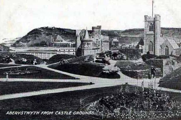 ....from the Castle grounds