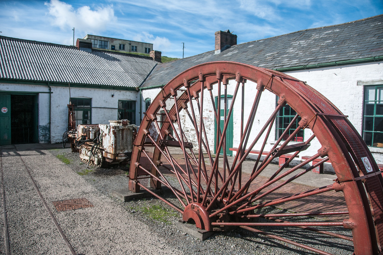 The Big Pit National Coal Museum in Blaenavon, Wales, England