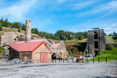 Blaenavon Ironworks in Blaenavon, Wales