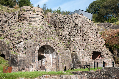 Blaenavon Ironworks in Blaenavon, Wales, England