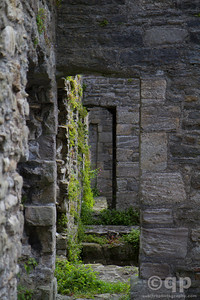 EMPTY HALLS OF BEAUMARIS CASTLE