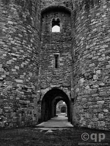 ENTRANCE OF BEAUMARIS CASTLE