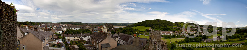 CONWY FROM THE WALL