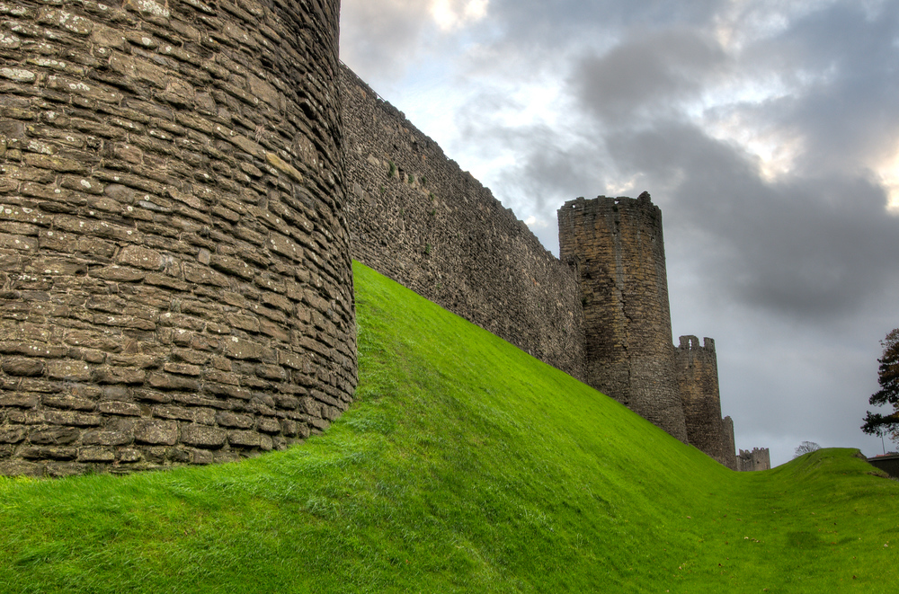 Castle Walls in Northern Wales
