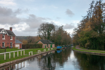 View of the Llangollen Canal in Wales, United Kingdom