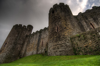 Chepstow Castle in Wales, United Kingdom