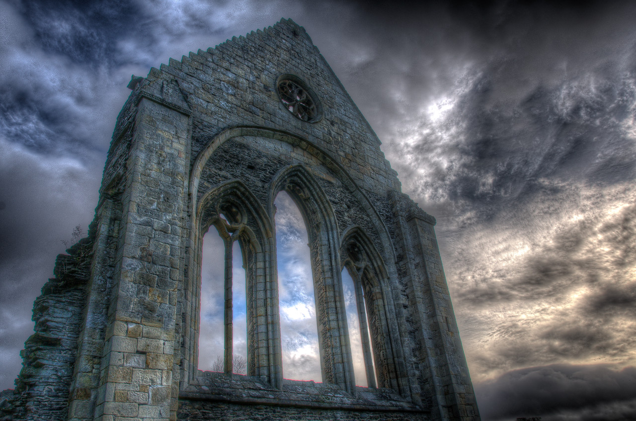 The Valle Crucis Abbey - Llangollen, Wales