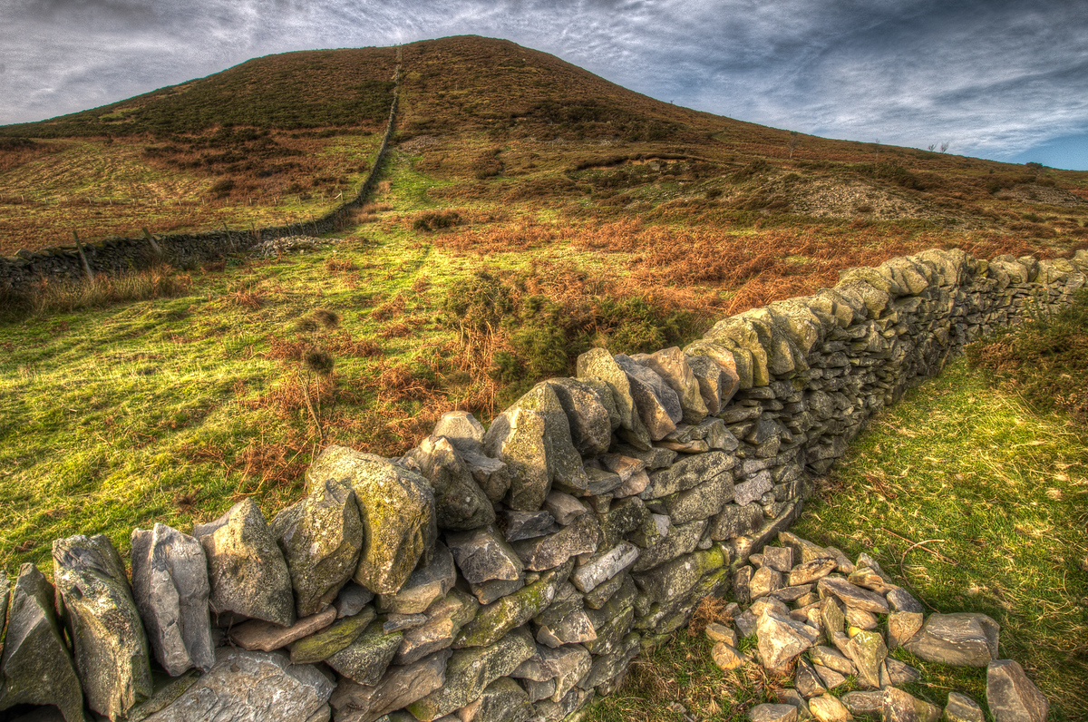 Stone Wall in Northern Wales