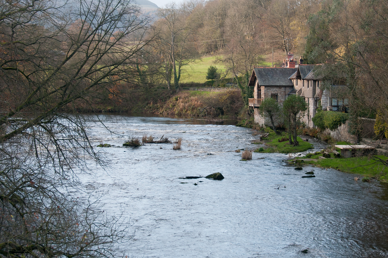 The River Dee in Wales, United Kingdom