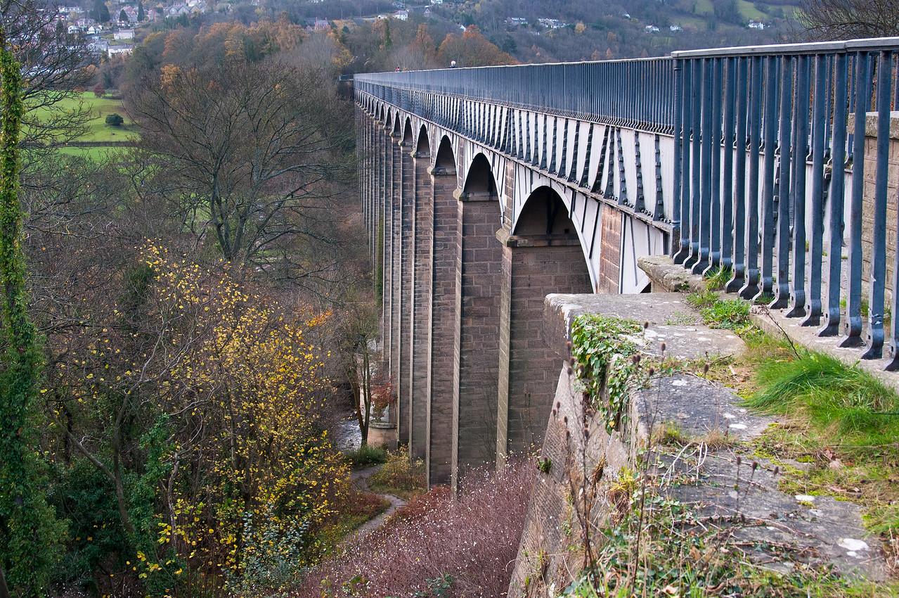 Pontcysyllte Aqueduct in Wales, United Kingdom