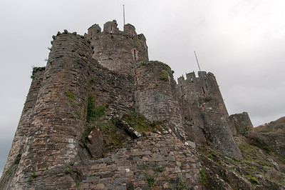Tower fortress at Chepstow Castle in Wales, England