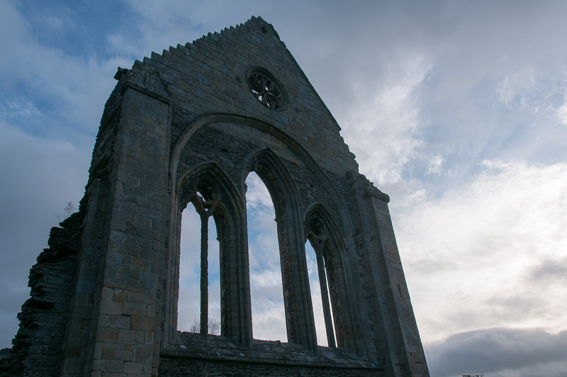 The Valle Crucis Abbey in Wales, United Kingdom
