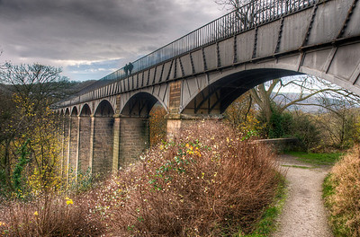 Pontcysyllte Aqueduct and Canal in Wales, United Kingdom