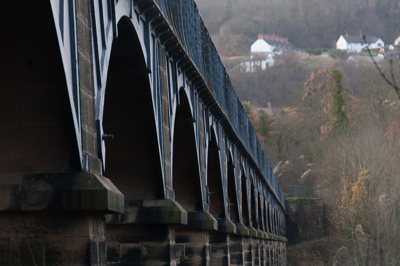 Pontcysyllte Aqueduct in Wales, United Kingdom
