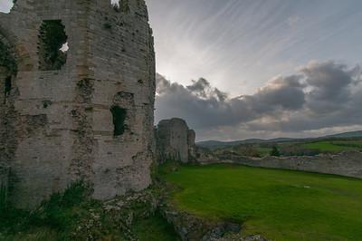 Chepstow Castle in Wales, United Kingdom