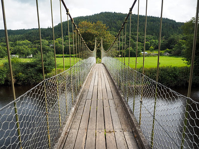 Bridge in Betws-y-Coed, Wales